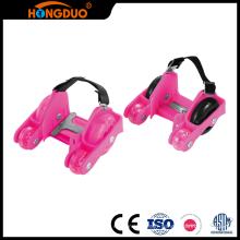Produits de qualité Patin à roulettes clignotant rétractable à 4 roues pour enfants