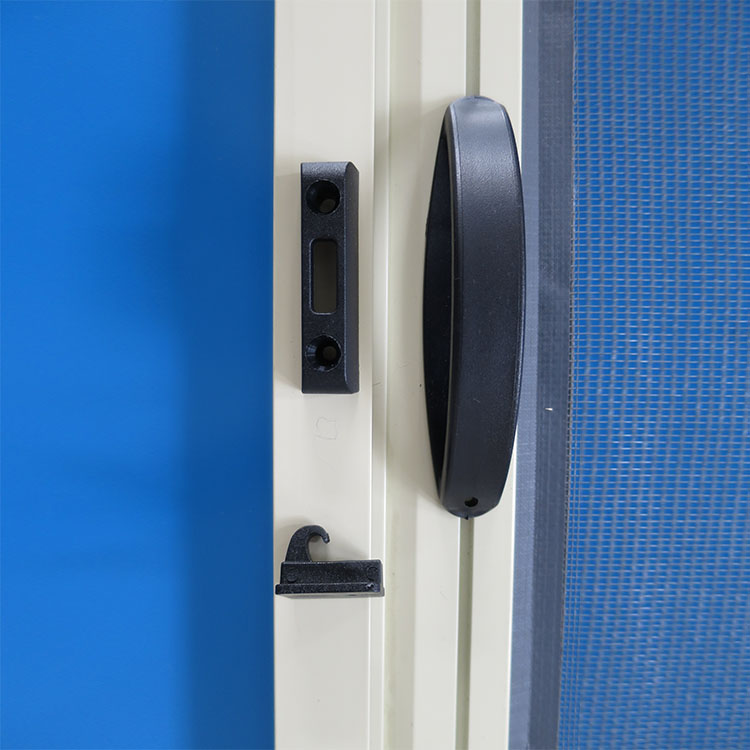 Single Cassette Retractable Fly Screens Door