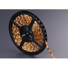 Impermeable amarillo de PCB SMD3528 LED luz de tira