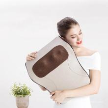 JW Factory Hot Sale Waist Neck Shoulder Massager Car Home Office Leg Massage Cushion Neck Pillow Waist Hot Massager