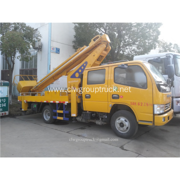 16m popular telescopic boom lift truck