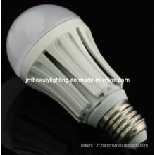 PC + Flameresistant Plastic + Constant Current Driver LED Global Bulb