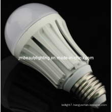 PC +Flameresistant Plastic + Constant Current Driver LED Global Bulb