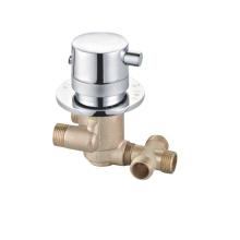 Zn alloy hand konb brass body single thermostatic bath shower mixer