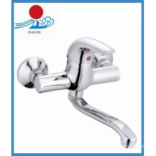 Fibra de misturador de cozinha de torneira de latão de sanitários (ZR21203)