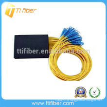 Fábrica Fibra Óptica 1x32 Splitter PLC