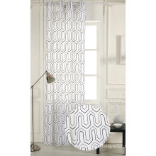 100% Polyester Embroidery Window Curtains