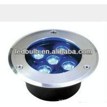 5W IP66 blue color led underground lamp