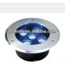 5W IP66 cor azul levou lâmpada subterrânea