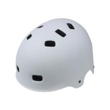 Matte White Skate Helmet for Adult Youth