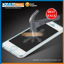 Antichoque e protetor de tela de vidro temperado para iphone 5g/5 C/5S anti-impressão digital