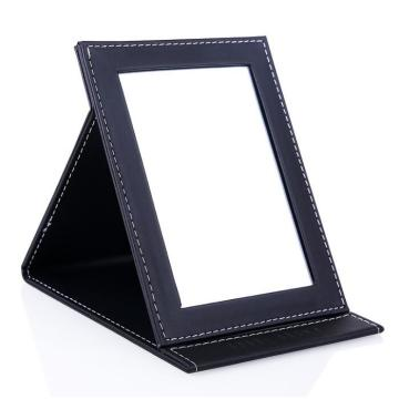 Desktop folding makeup mirror
