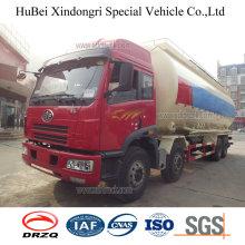 34cbm FAW Euro 3 Polythene Dry Powder Tanker Truck with Diesel Engine