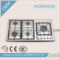 5 Burners Stainless Steel Built in Gas Hob Gas Cooker