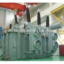 Transformador de energía inmerso en aceite de 66KV