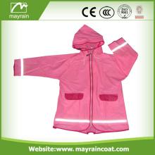 Kid' PVC Jacket With Printing Logo