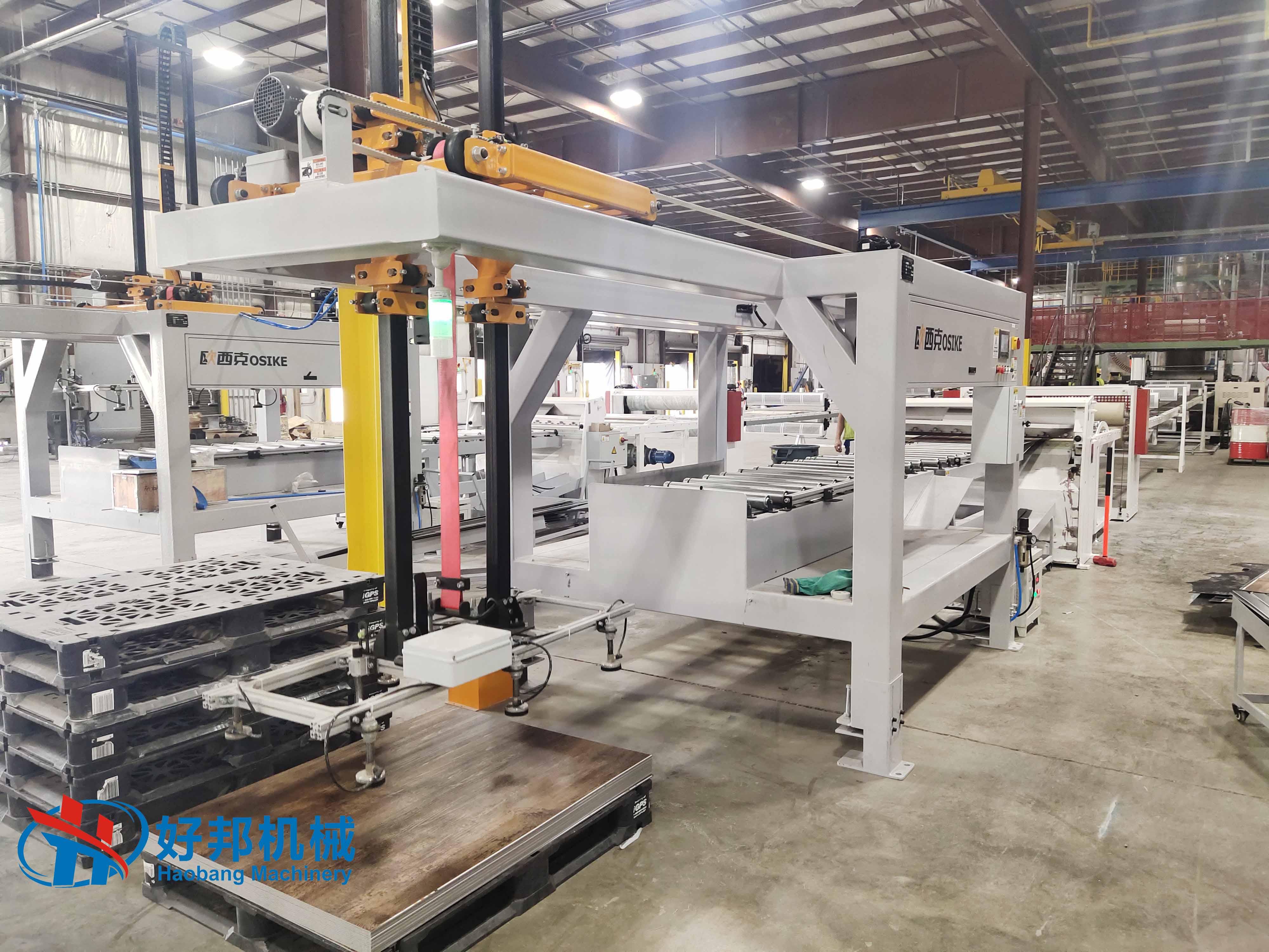 Spc Floor Auto Stacker Machine