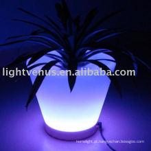 Carrinho de flor do diodo emissor de luz da decoração da forma