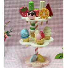 Деревянная игрушка для мороженого