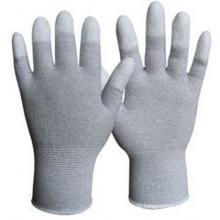 Weißer PU-beschichteter Arbeitsschutzhandschuh Nmsafety Palm Fit PPE