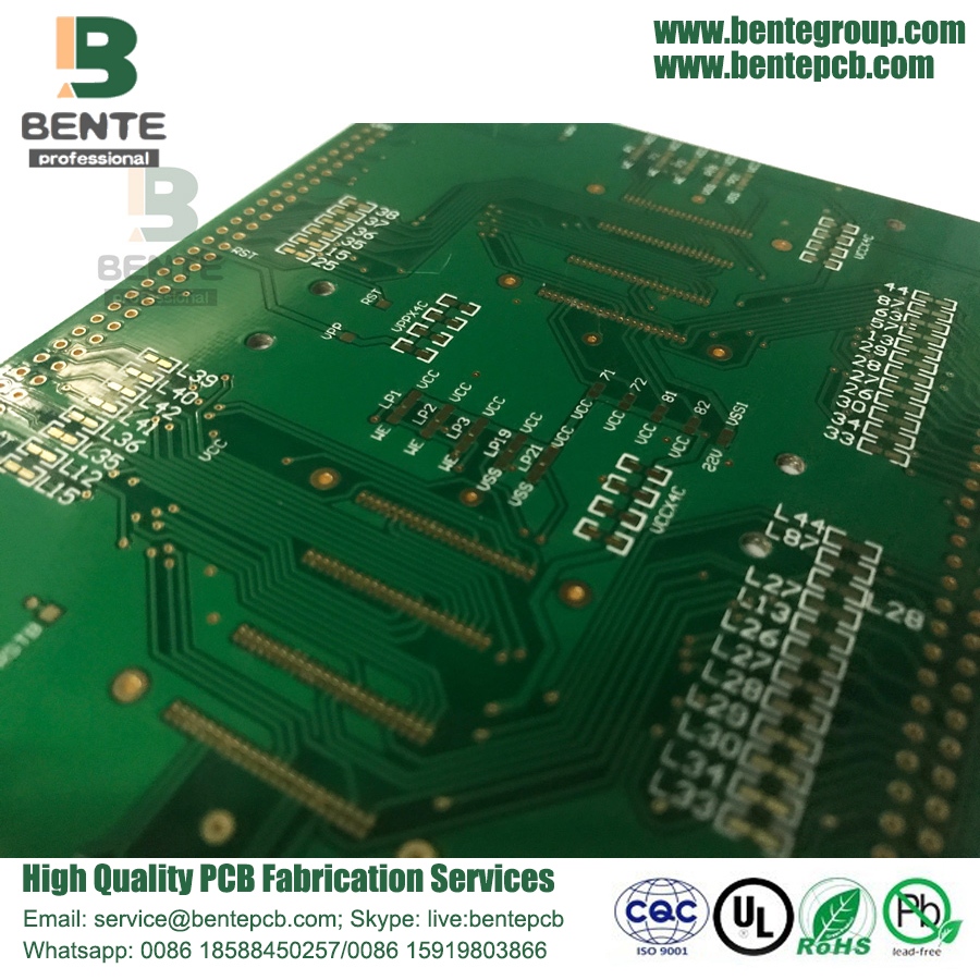 Custom PCL Controle industrial Quickturn PCB