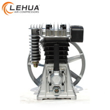 1.5kw 2hp 2055 aluminium air compressor pump with pulley