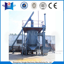Lead melting equipment single stage gas burner