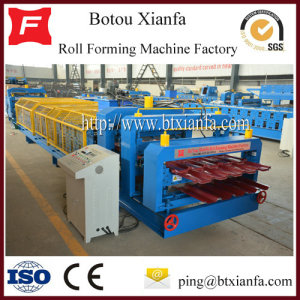 Roof Wall Panel PLC Roof And Floor Tile Making Machine