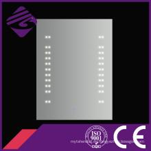 Espejo de baño montado en la pared con luz de punto LED