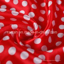 Gedrucktes Satin Polyester Gewebe für Großhandel