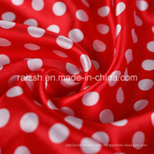 Printed Satin Polyester Fabric for Wholesale