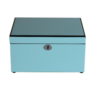 Joyero Tiffany Blue Ladies Two Layers