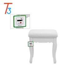 color accept customize kids dressing table designs mirror with led lights