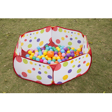 Kinder spielen Zelt Soft Colourful Ocean Balls