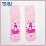 NL-C-110237 children's 100% cotton tube socks for young girls