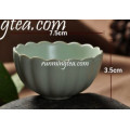 Traditional Lotus Shape Chinese Porcelain Tea Cup
