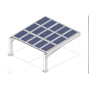 Supports de montage pour abri de voiture solaire Système solaire