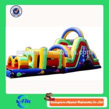 Niños inflables juego inflables obstáculos curso inflables obstáculo juego