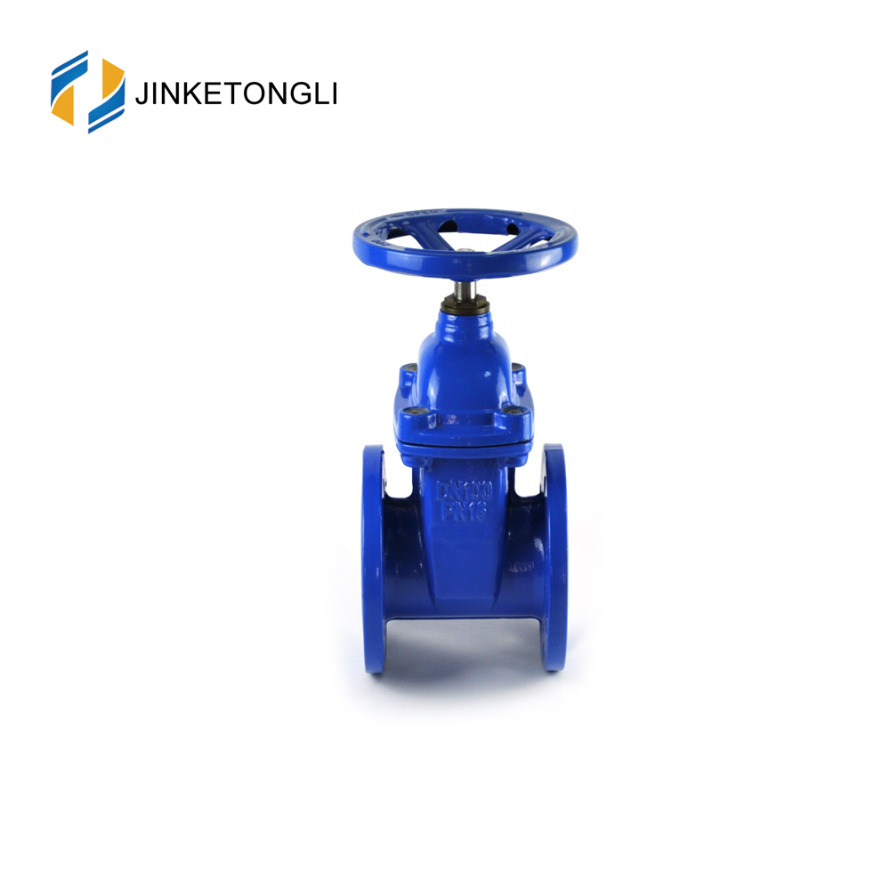 JKTLCG020 solid wedge stainless steel non rising stem gate valve