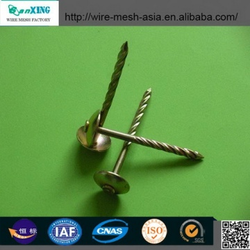 Umbrella Head Roofing Nails Twisted Shank