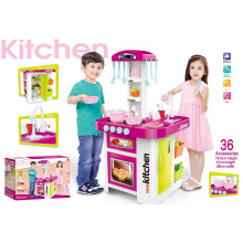 Super Western-Style Kitchen Toys-with Open Refrigerator