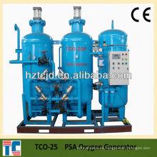 Planta de producción de oxígeno de 0.4mpa con compresor de 150bar