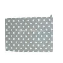 toalha de chá de linho impressa personalizada