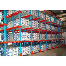 bulk storage shelving racks wire decking used