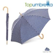 Kundenspezifischer preiswerter windproof Förderungsschirm Kundengebundener preiswerter windproof Förderungsregenschirm
