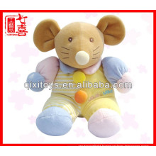 Wholesale mouse baby toy small toy baby doll for
