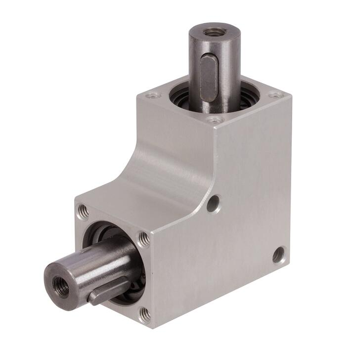 Agriculture Aluminum Bevel Gearbox Sprial Bevel Gearbox