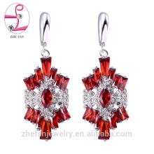 zhefan Mini-Auftrag 2018 Mode 925 Sterling Silber Frauen Ohrringe, Großhandel Frauen Mode Ohrring