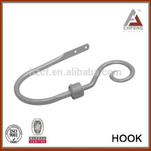 Аксессуары для шторных стержней, удержания с финишным металлическим удержанием