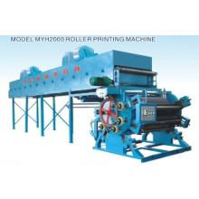 Máquina de impressão de veludo Cinco cores (MYH2000)